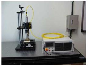 레이저 시스템 구축 (Model. YLR-500MM-AC)