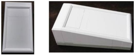 호기가스 측정용 복합센서 플랫폼 모형 사진