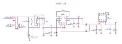 복합센서 플랫폼 시스템 제어 회로도 (Power supply)