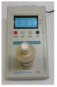 복합 호기가스 측정 시스템의 prototype