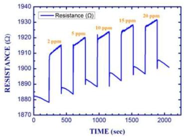 금 나노입자가 기능화된 SWCNT 센서의 CO 감응 특성