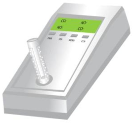 호기가스 측정을 위한 복합센 서 플랫폼의 기구부 설계도