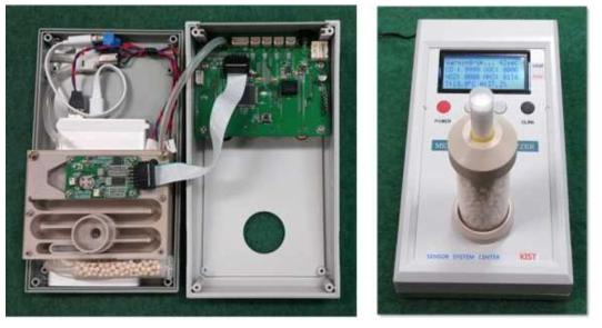 복합 센서플랫폼 기반 호기가스 측정 시스템의 prototype