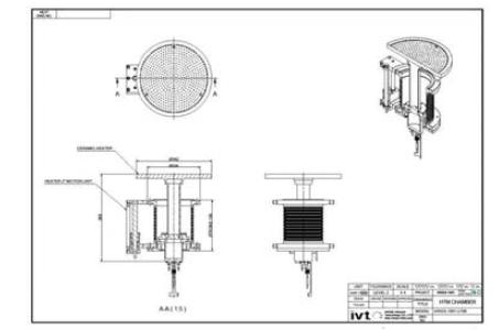 Z-Axis motion unit 2D 설계도