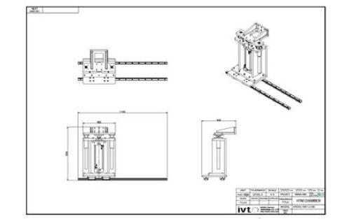 Door transfer unit 2D 설계도