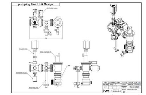 pumping line unit 2D 설계도