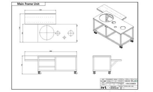 Main frame unit 설계도