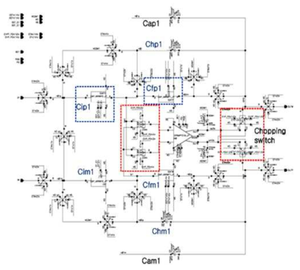 Switched-Capacitor instrumentation amplifier
