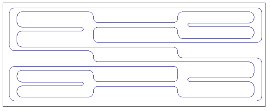 Structure pattern of Bulk MEMS