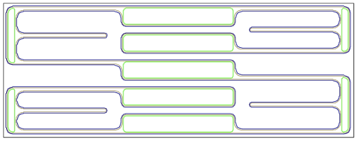 Total pattern of Bulk MEMS