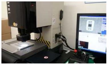 정밀 측정을 위한 비접촉 측정 장비