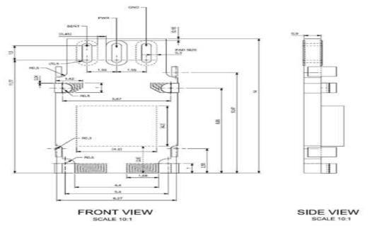 Bulk MEMS 압력센서 PCB