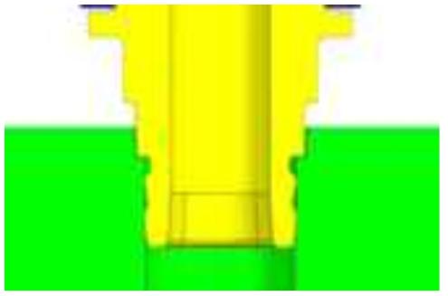 Clinch 압입부 구조