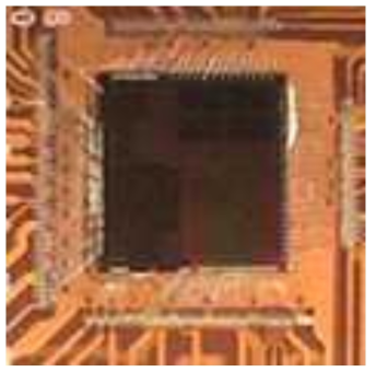 제작된 신호처리 SoC의 Decap 및 Wire-bonding 사진