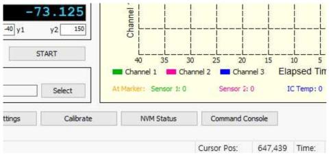 ASIC 상태 확인을 위한 NVM Status 버튼