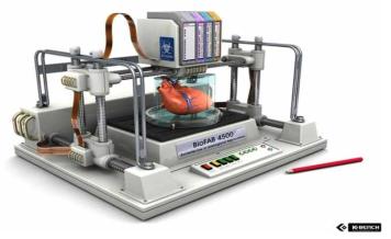 생체장기를 제작하는 Bioprinter, BioFAB 4500