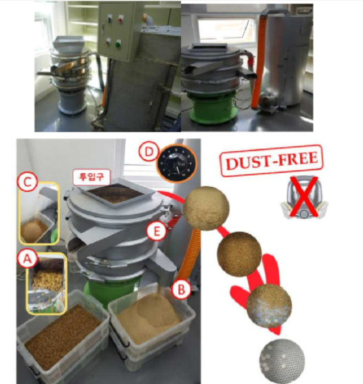 곤충의 대량 생산과 단가절감을 위한 친환경 자동 분리 장치 (최종 prototype) ?유충 ?배설물 ?먹이 ?파워조절장치 ?먼지흡입장치