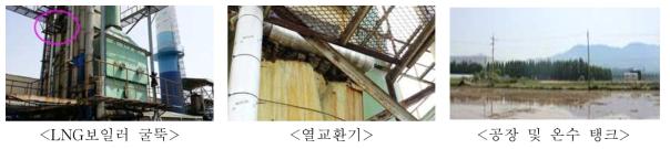전남 곡성군 소재 온실의 산업폐열 이용 사례