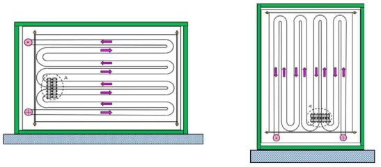 축열탱크의 열수요처 설치방법
