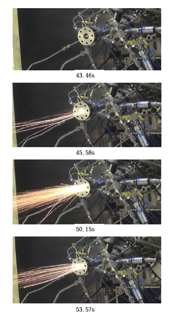 Capture of the spark final facility test