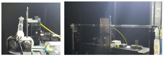 램프 강도 측정 실험 사진(320W 램프)