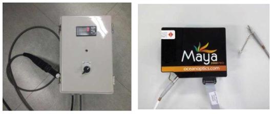 램프 안정기 및 강도 측정 Spectrophotometer