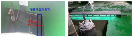 노적봉 공원 저류조 및 소독 시스템 설치 사진