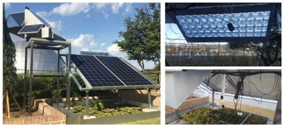 태양광전달시스템 시제품