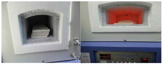 신소재 전기로 고온 테스트(600℃ ~ 800℃)