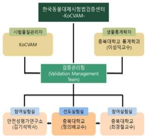 Validation management team organization in 2017 VMT Configuration