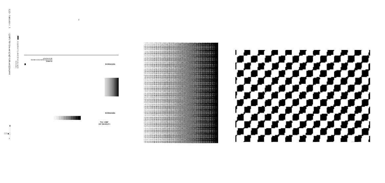 인쇄 파일 원본 사진 (좌) 및 초고해상도로 확대한 사진 (우)
