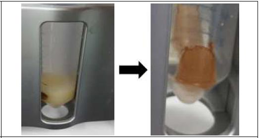 자석을 이용하여 항체·자성입자복합체분리