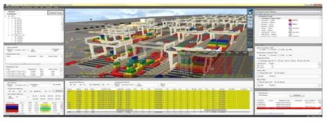 두바이 버츄얼 터미널 화면(녹원정보기술, 2017)
