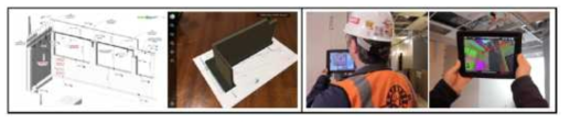 마커기반 증강현실 기술 적용