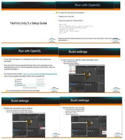 TechViz Unity 5.x Setup Guide