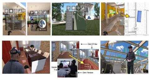 Fuzor VR 주요 기능들