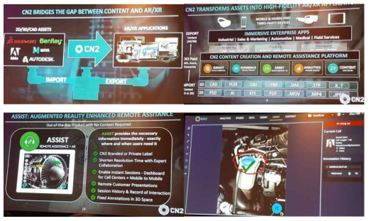 가상/증강현실 통합 플랫폼 (CN2社)