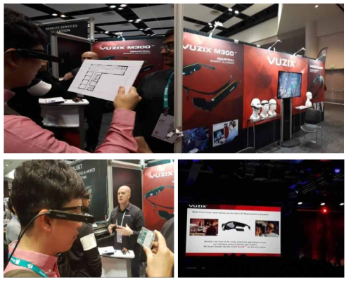 Vuzix M300 Augmented Reality (AR) Smart Glasses 제품 시연 (Vuzix社)