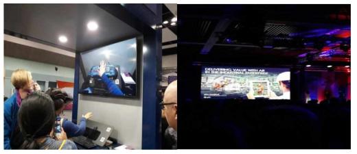 eSight의 smartglasses 제품 시연 및 제품 활용 발표 (eSight社)