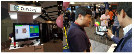 CurvSurf의 AI 기반 Human Motion 기술 적용 시연 및 활용 발표 (CurvSurf社)
