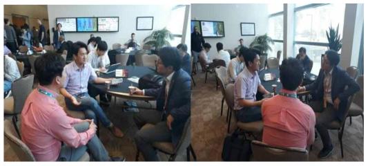 산호세주립대학교 편재호 교수과의 회의