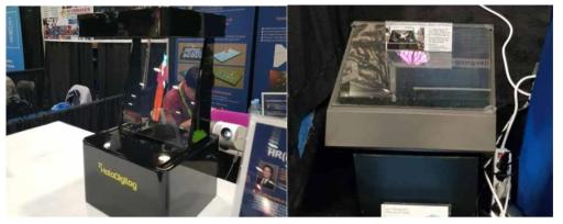 Lucy-HoloReality Display 장치 시연 (광운대학교)