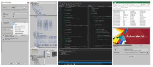 PIXYZ Import / 파싱모듈 개발/ 유니티 자동화 재질 플러그인