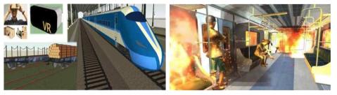 AR/VR기반 철도안전교육 및 지하철 재난 시뮬레이션과제