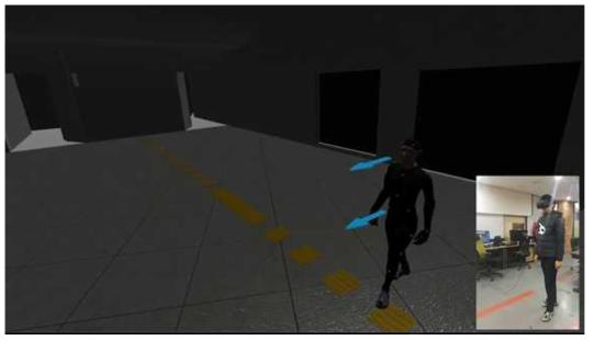 개발 테스트 화면