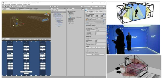Unity 3D에서 BIM room 시스템과 연동하여 테스트