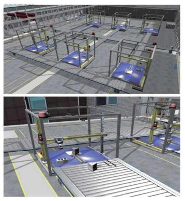가상공장 시뮬레이션 및 가시화