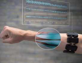 센서기반근육인식기술(MYO 기기)