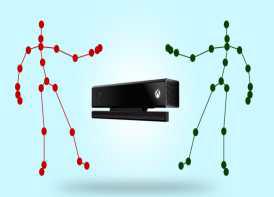 골격의 움직임 인지하는 Kinect 기기 (MicroSoft 社)