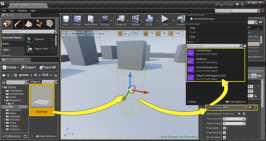 EQS Testing Pawn 작업 화면 (Unreal Engine社)